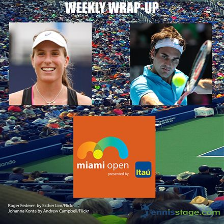 Hello all, too busy to keep up with the latest tennis news happening this week? No worries. We have you covered. Here is our Tennis Stage summary for the week ending Sunday, April 2nd.