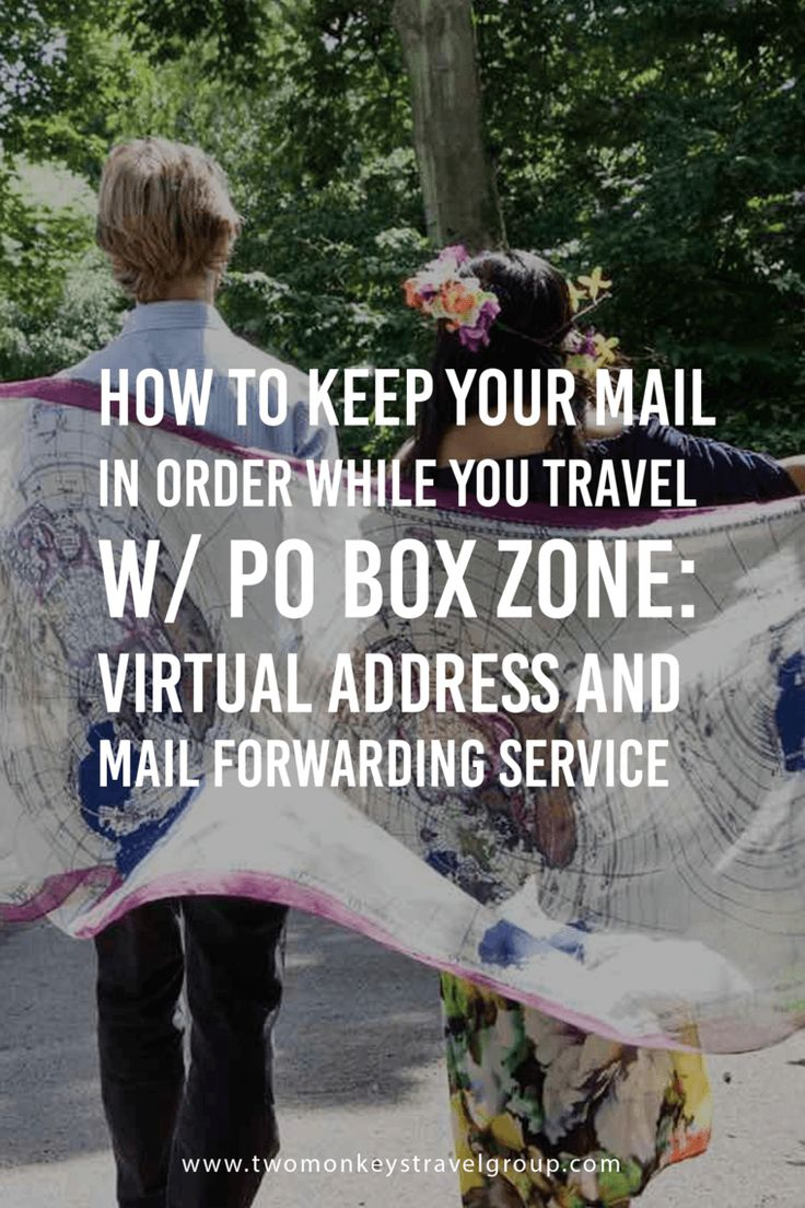 how to put po box in address online