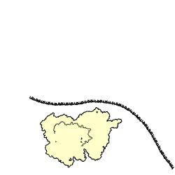 Wikipedia site with an animation showing how a protein destined for the secretory pathway is synthesized as a ribosome interacts with the lipid bilayer of the rough endoplasmic reticulum (which appears at upper right in animation when approximately half of the mRNA has been translated).