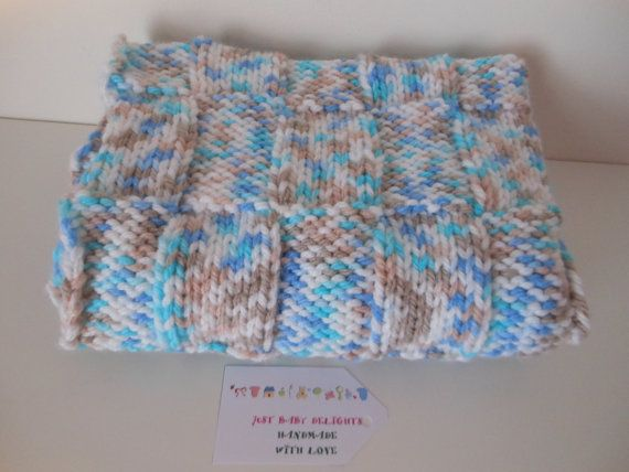 Hey, I found this really awesome Etsy listing at https://www.etsy.com/uk/listing/273854706/baby-boy-chunky-knitted-blanket-nursery