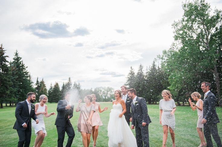 Carrie + Steven Derrick Golf and Winter Club Wedding - Edmonton Wedding Photographer - Rhiannon Sarah Photography - Summer Wedding