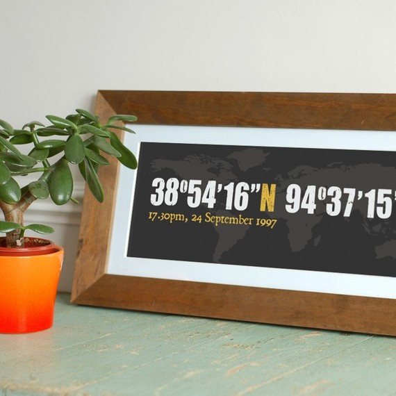 """latitude & longitude of a special place.  very cute.... need to do this with our wedding location (so i don't forget when I do this craft Latitude - Longitude: 36.175106,-78.865485  Lat: 36° 10' 30.381""""N Long: -78° 51' 55.746""""W"""