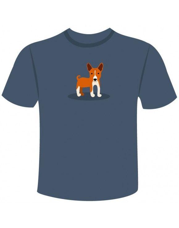Compra la camiseta de tu perro Basenji con el diseño más original. Elige entre varios colores y tallas. ¡Lleva tu Basenji siempre contigo!