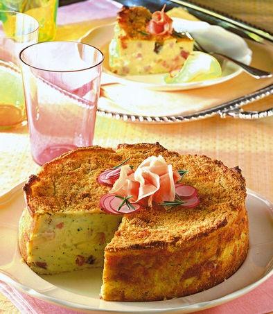 Gateau di patate e mozzarella