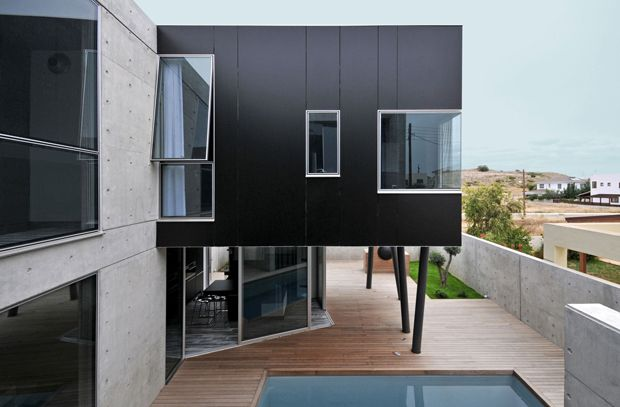 House 0605 di Simpraxis Architects