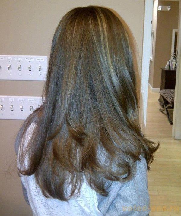 haircut long hair layers каскад на длинные волосы