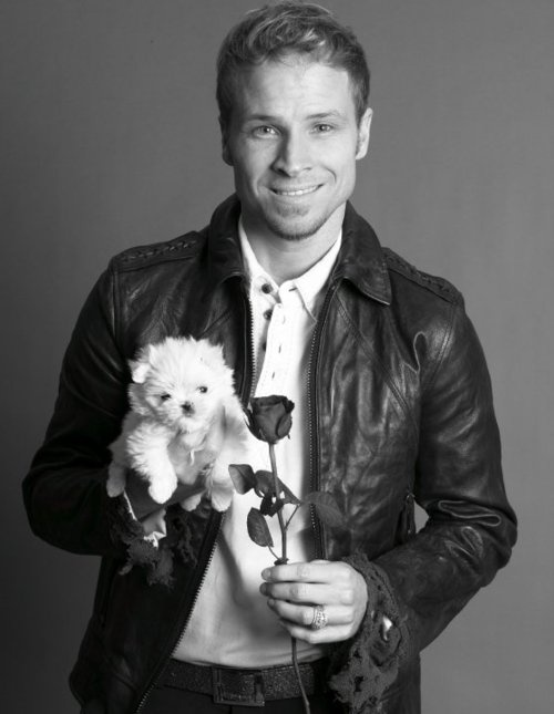 Brian Littrell, like really, if he showed up at your doorstep with a rose and a puppy, in all his beauty, how could you turn him down?
