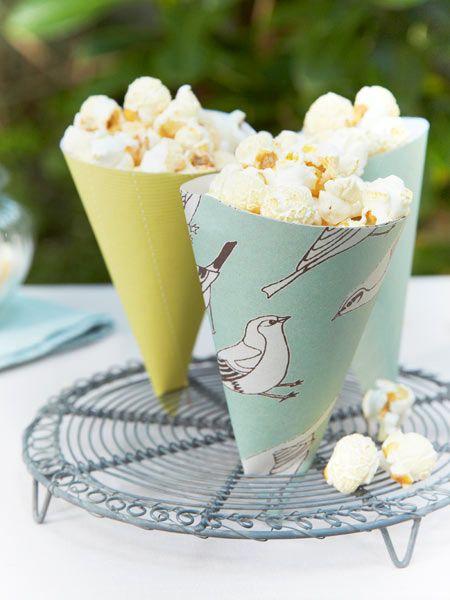 Popcorn selber machen und hübsche Verpackungen - so geht's!