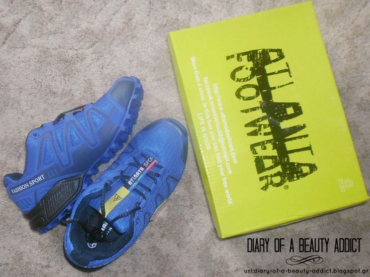 Atlanta Footwear Blue Athletic Shoes