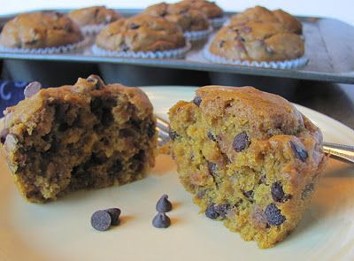 Pumpkin Chocolate Chip Muffin by   Sprinkle Some Sunshine: Muffins Parties, Pumpkin Recipes, Pumpkin Chocolate Chips, Sprinkles, Pumpkin Chocolates Chips, Pumpkin Muffins, Muffins Recipes, Chocolate Chip Muffins, Chocolates Chips Muffins