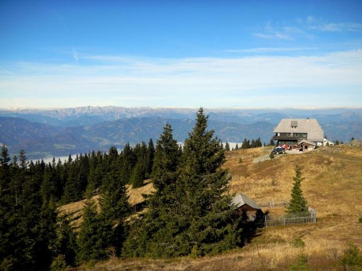 Am Brucker Hausberg, dem 1.629m hohen Rennfeld