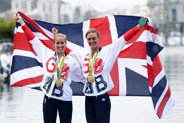 Defending their Olympic title: Helen Glover and Heather Stanning
