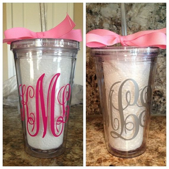Hey, I found this really awesome Etsy listing at http://www.etsy.com/listing/152600959/monogrammed-tumblers