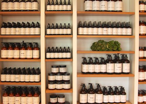 All organic bath and body line by Milk + Honey Salon. Handcrafted from the ground up in Austin, Texas