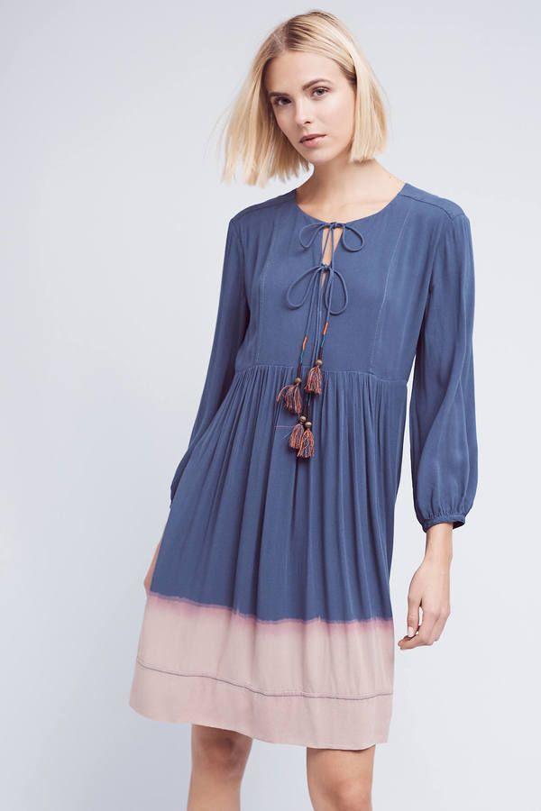 Holding Horses Dip-Dye Peasant Dress