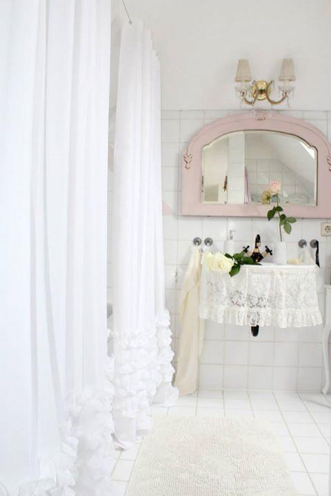 686 Best Images About Romantic Bath On Pinterest Shabby