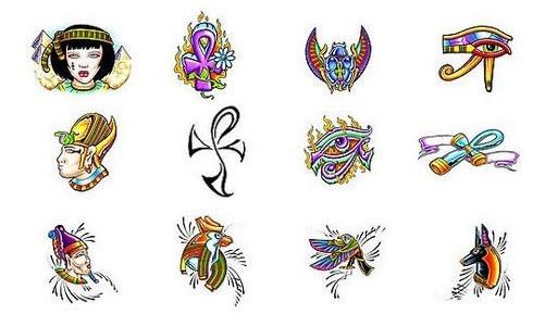 Diseños para tatuajes egipcios