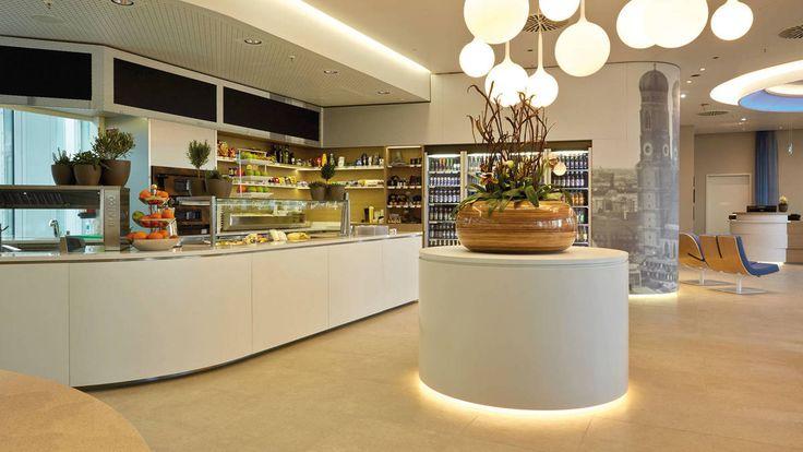 HUB mit Frischeinsel im H2 Hotel München