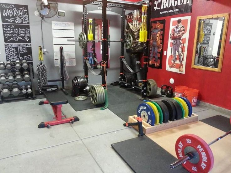 Useful And Attractive Garage Gym