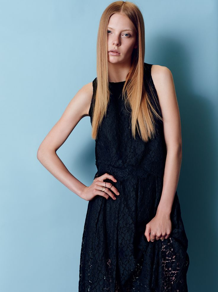 Naughty Dog SS15 lace black dress. Every girl needs one!