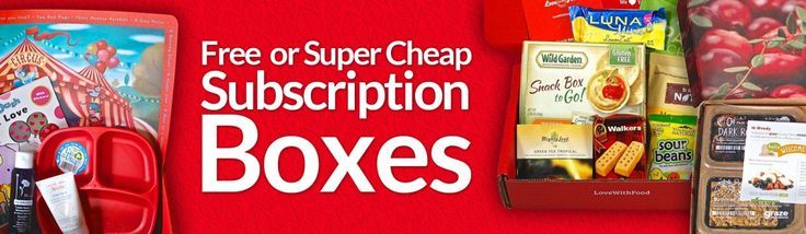 How to Get Free Subscription Boxes, Free Trials and Really Cheap Boxes