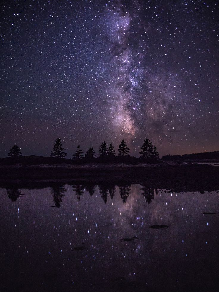 Just got back from Acadia National Park where I believe I saw the clearest skies I've come across in all my travels. {OC} (1540x2048)