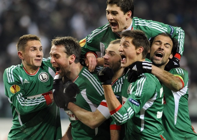 Legia Warsaw's Orgasmic Faces