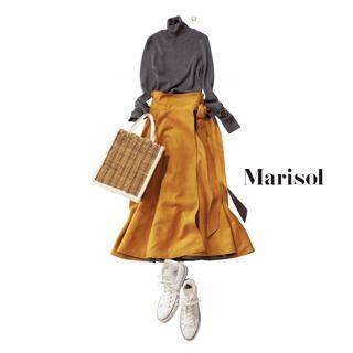 一日中オフィスにおこもりDAYはリラックスできる服装で。Marisol ONLINE 女っぷり上々!40代をもっとキレイに。