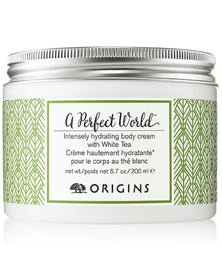 Origins A Perfect World Intensely Hydrating Body Cream with White Tea, 7 oz