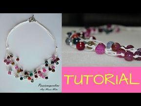 a5f671ee7c61 DIY - TUTORIAL  come fare una collana multifilo con pietre dure - YouTube