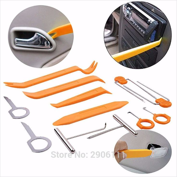 12pcs Car Stereo Installation Kits Car Radio Removal Tool for Hyundai elantra ix35 solaris accent i30 accessories car-styling
