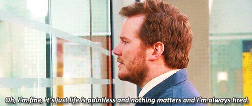 When you're having a bad day | #ParksandRec