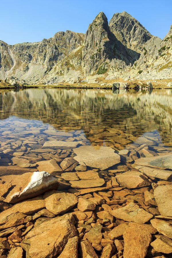Romania - Retezat Mountains, Bucura Lake
