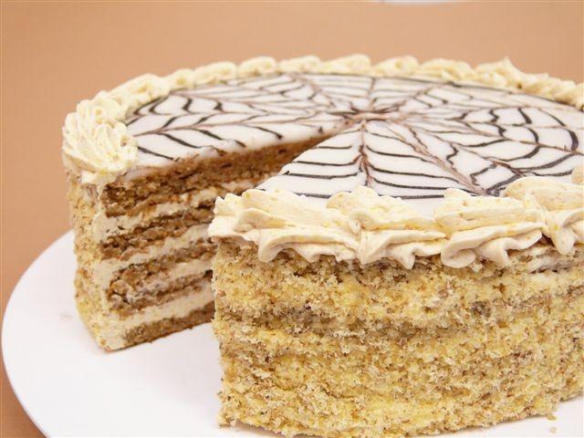 Hungarian Eszterházy cake ~ heavenly!