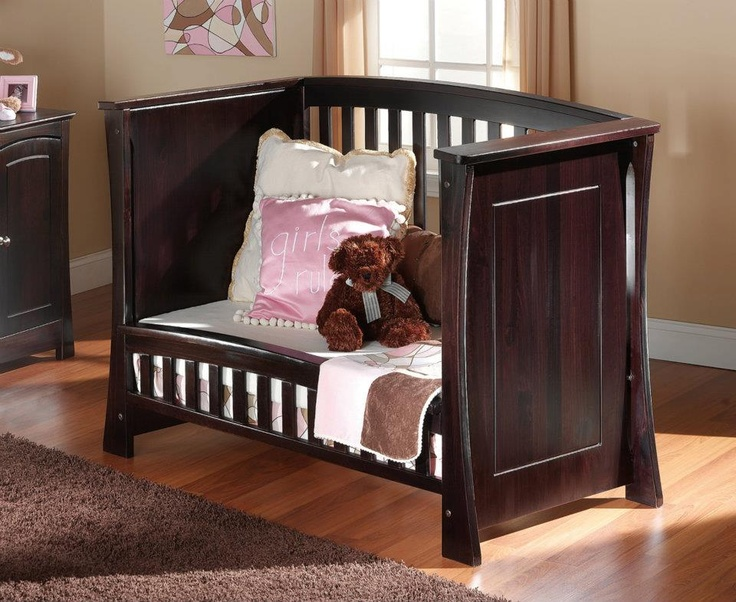 Ocean Safety Gate Crib Converted Into Toddler Bed Http