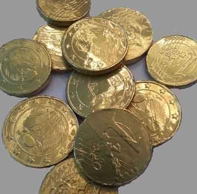 Ben jij een piratenfeestje aan het organiseren en zoek je naar originele aankleding of een traktatie? Bestel deze lekkere chocolade munten! Kinderfeest.nu!