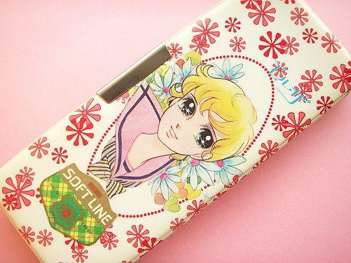 Vintage Pencil Case Japanese Girl Illustration Collection Rare Japan by Kawaii Japan, via Flickr