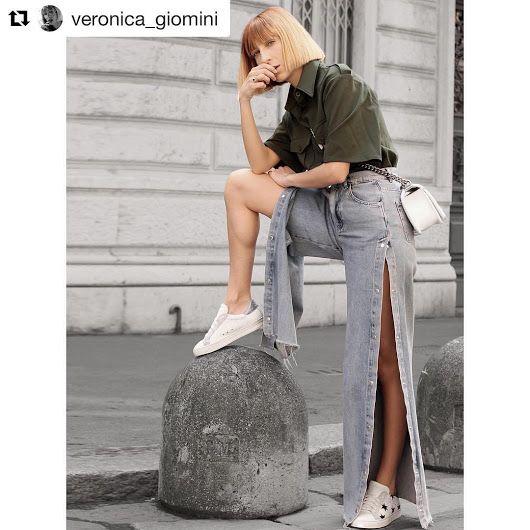 Veronica Giomini indossa #stokton #FabioSfienti  https://instagram.com/p/BTiv...