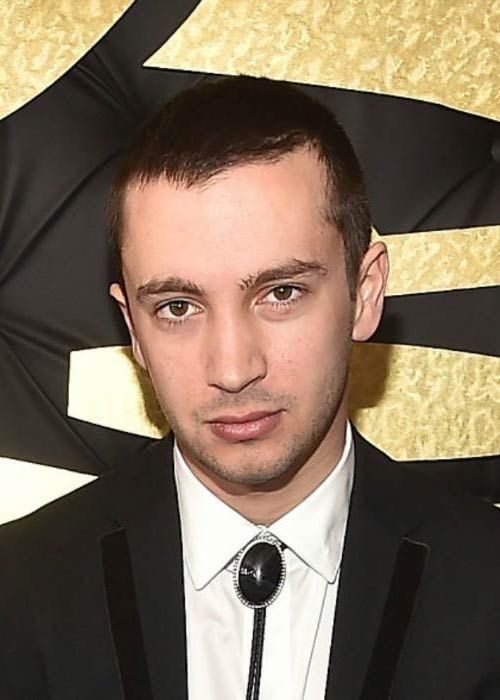 Tyler Joseph at the 59th GRAMMY Awards in February 2017...
