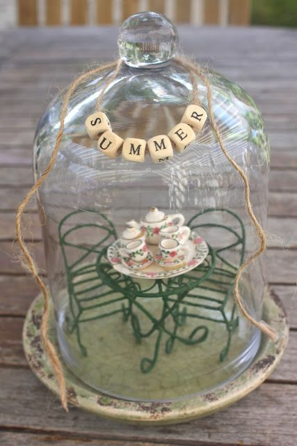 Rooted In Thyme: Summer Cloches http://rootedinthyme.blogspot.ca/2012/07/summer-cloches-simple-sweet-fridays-21.html?showComment=1343318994737
