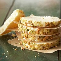 Pistachio Cream Cheese Sugar Cookies!  This goes straight into the cookie Jar!