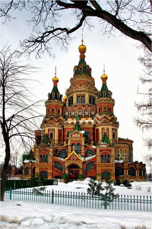 Saint Peter and Paul Cathedral, Peterhof, St. Petersburg, Russia