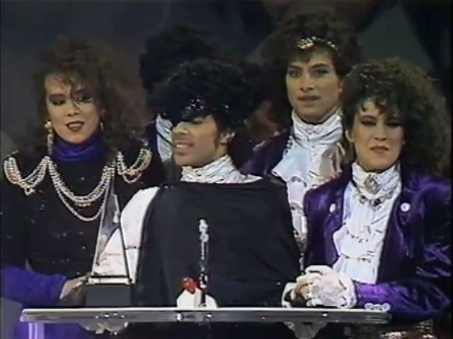 1985 american music awards,  Prince and the Revolution