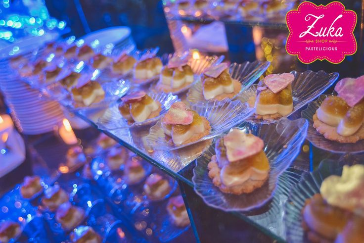 Lulo delight mini desserts candy bar for weddings