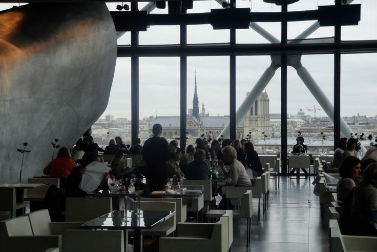 Georges restaurant in Paris | Lunch at Georges Restaurant - Paris | Leather & Porridge