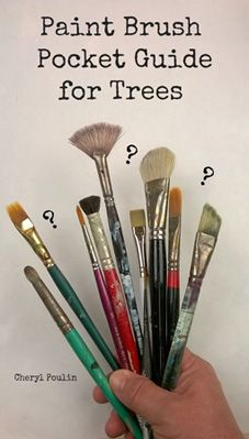 This Tree Pocket Guide will save time and money and remove guesswork and trial and error in buying brushes.