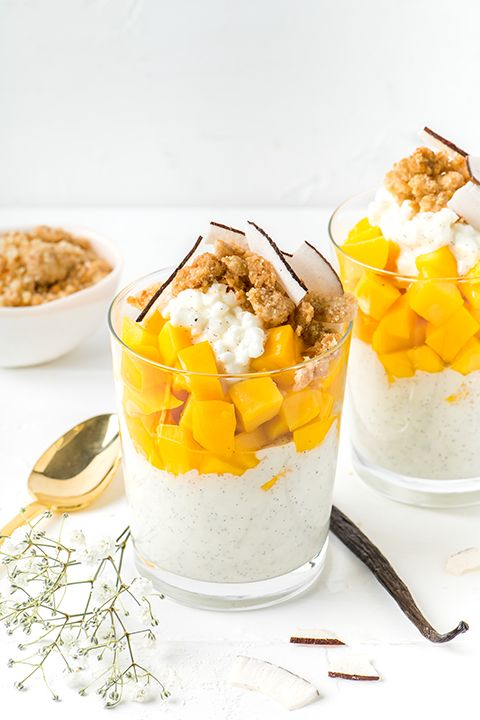 INGREDIENTS BY SAPUTO | In search of a healthy dessert idea with just the right amount of sweetness? Try our vanilla cottage cheese parfaits with mango, cookie crumbs and coconut. This fresh and easy fruit recipe will blow you away!
