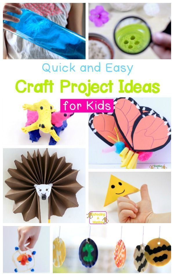 Looking For Craft Ideas For Kids These Projects For Kids Are Simple