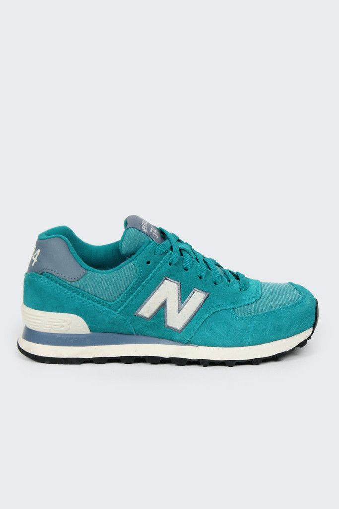 new balance green and gold
