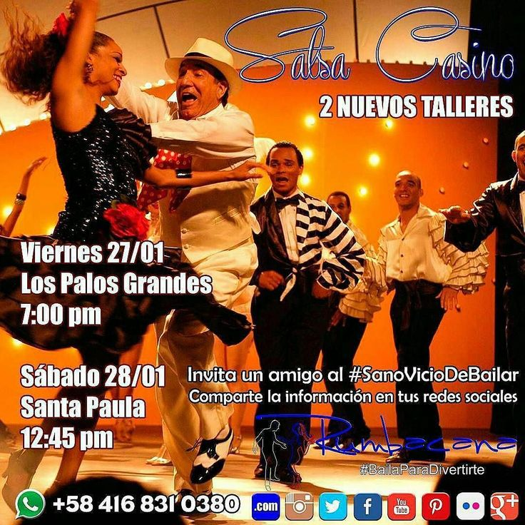 Bailar salsa casino caracas